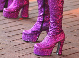 70s disco tribute - boots