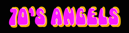 70s disco tribute band the disco angels logo